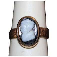 Victorian Hardstone Cameo Ring