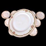 HAVILAND Limoges 12 Plates France Schleiger 625