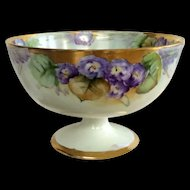 Antique Royal Austria Porcelain Compote Bowl Art Nouveau