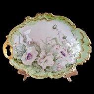 Antique Limoges Porcelain ART NOUVEAU Tray Platter Plate