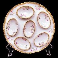 HAVILAND Limoges France Egg Plate