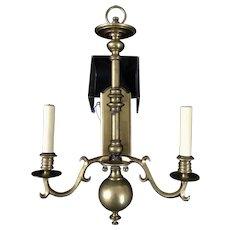 "MCM Lighting Visual Comfort E. F. Chapman Double Sconce 22"""