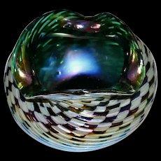 Small  KRALIK Iridescent Art Glass  Vase  c. 1900