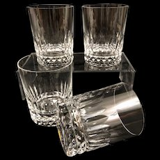 1 Baccarat Piccadilly Doubled Old Fashioned Glass (s) Vintage