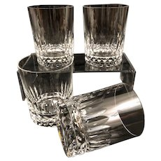 Baccarat Glass Piccadilly Doubled Old Fashioned Tumbler (s) Vintage