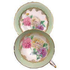 Paragon CHRYSANTHEMUM Cup & Saucer EX Condition Mums