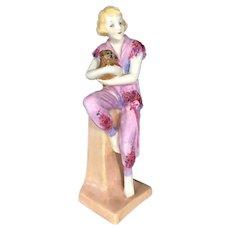 RARE Royal Doulton Figurine LIDO LADY HN1220 First Edition