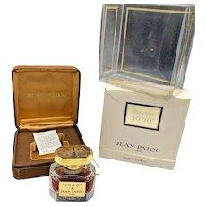 Jean Patou 1000 Pure Parfum 1/2 oz 15 ml Vintage Rare Baccarat Crystal Bottle