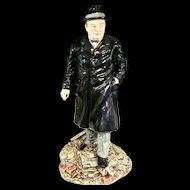 Royal Doulton England Winston Churchill Limited Edition #433 Figurine /HN3433