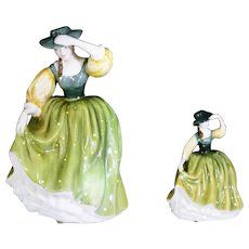 Royal Doulton Figurine Lot of 2 Buttercup Figures Hn 2309 and HN3268 A RARE DUO