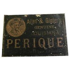 Vintage Louisiana Perique Smoking Tobacco Tin