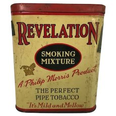 Revelation Pipe Tobacco Tin