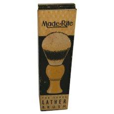 Vintage Made-Rite Shaving Brush