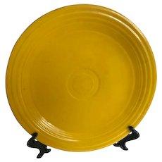 Vintage Fiestaware Yellow Luncheon Plate