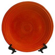 Vintage Red Fiestaware Luncheon Plate