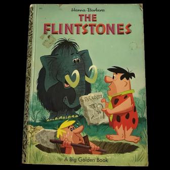 Vintage Hanna Barbera The Flintstones Book