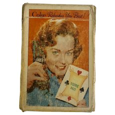 Vintage Coca-Cola Playing Cards