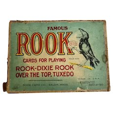 Vintage Rook Card Game