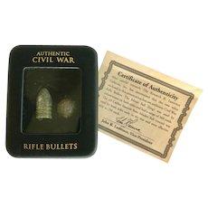 Vintage Civil War Bullets