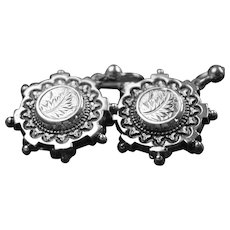 Victorian drop earrings in Sterling Silver