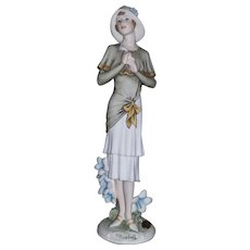Giuseppe Armani signed Florence figurine Bluebell 1244P