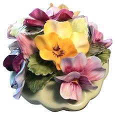 Original Adderley Floral bouquet bone china made in England pre-1950's