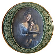 """Pikard China """"Mother's Love Series"""" """"Story Time"""" signed by Irene Spencer"""