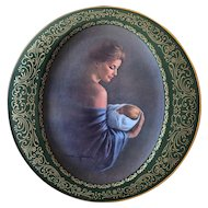 """Pikard China """"Mother's Love Series"""" """"Miracle"""" signed by Irene Spencer"""