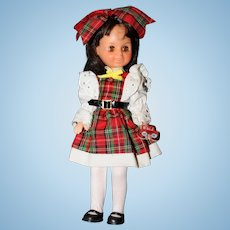 """8"""" Vinyl 1984 Jointed all Original Sunrise In America Doll """" First Day of School""""."""