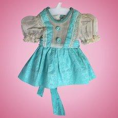 Doll Clothes - 1940's Hard Plastic Doll Dress for P90 Toni or Toni-Type