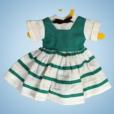 Doll Clothes - 1940's to 1950's Hard Plastic Doll Dress for P90 Toni or Toni-Type