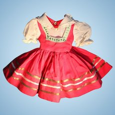"""Doll Clothes - Vintage Factory 18"""" to 20"""" Sweet Sue Doll Dress"""