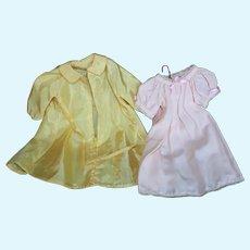 Terri Lee Nightgown and Robe or Raincoat.