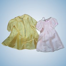 Terri Lee Nightgown and Robe or Raincoat.