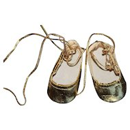 Terri Lee Gold Shoes-Slippers.