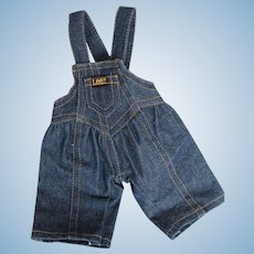 DOLL CLOTHES - Original Buddy Lee Doll Overalls.