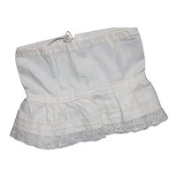 Doll Clothes - Incredible Half Slip for your Bisque Doll.