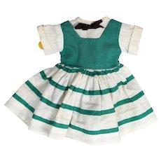 1940's to 1950's Hard Plastic Doll Dress for P90 Toni or Toni-Type Doll.