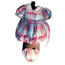 """Doll Dress for 18"""" - 19"""" Hard Plastic Dolls, vintage"""