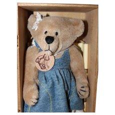 "9"" Ltd Ed Bonita Bear by Applause."