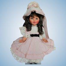"""14"""" Jtd. All Orig Vinyl Italian Furga Doll."""