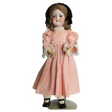 "23"" Armand Marseille Bisque German Doll #390 A 6½ M."