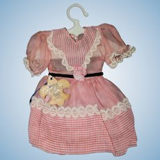 "Factory Doll Dress for 1950 18"" Rita Paris Walking Doll"
