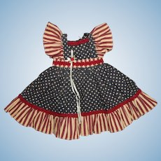 Tribute to America Vintage Doll Dress.