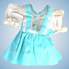 1940's Hard Plastic Doll Dress for P90 Toni or Toni-Type Doll.