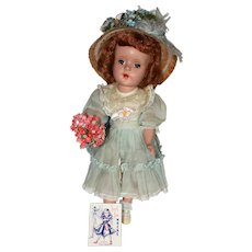 "14"" Mint, all orig Hard Plastic, American Character Sweet Sue."