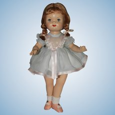 "17"" jtd Composition a/o ""Sandra"" with Factory Tag Eugenia Doll Company."