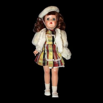 Ideal P-92 Toni Walker Doll.