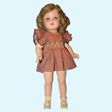"""19"""" Composition Marked R&B Nancy Doll."""