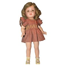 "19"" Composition Marked R&B Nancy Doll."